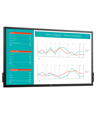 Moniteur tactile interactif Dell 70: C7017T
