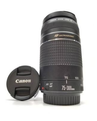 Objectif Canon 75-300mm