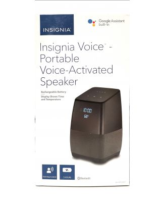 Haut-parleur bluetooth avec GoogleHome intégré