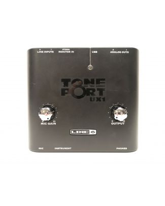 Interface audio Tone port UX1 de Line6