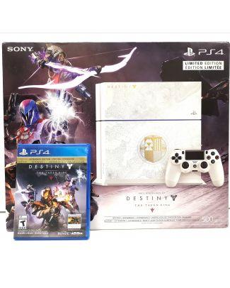 Console Playstation 4 édition limitée Destiny