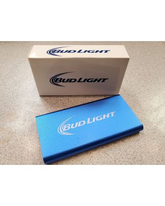 CHARGEUR EXTERNE USB, BUD LIGTH , 1800MAH