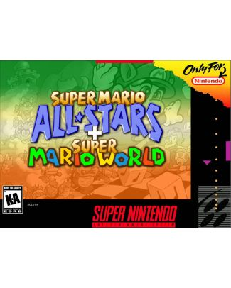 Super Mario All-Stars & Super Mario World - Super Nintendo