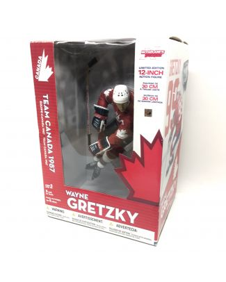 Figurine de collection WAYNE GRETZKY Team Canada McFarlane 1987